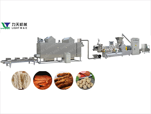 Textured Soya Protein Machinery