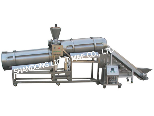 Double Drum Seasoning Machine