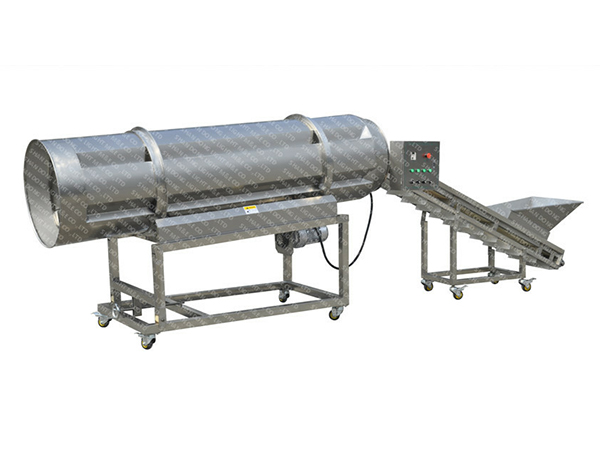 Single Drum Seasoning Machine