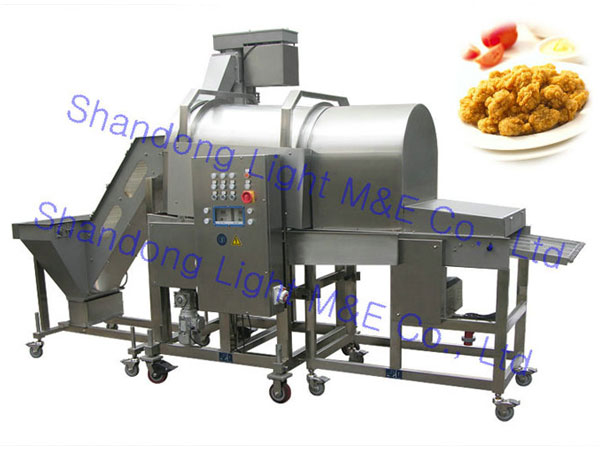 Automatic Drum Breading Machine
